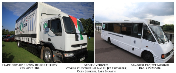 Stolen Trade Not Aid Vehicles