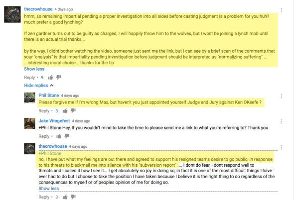 Zen Gardner KOK Hypocrisy